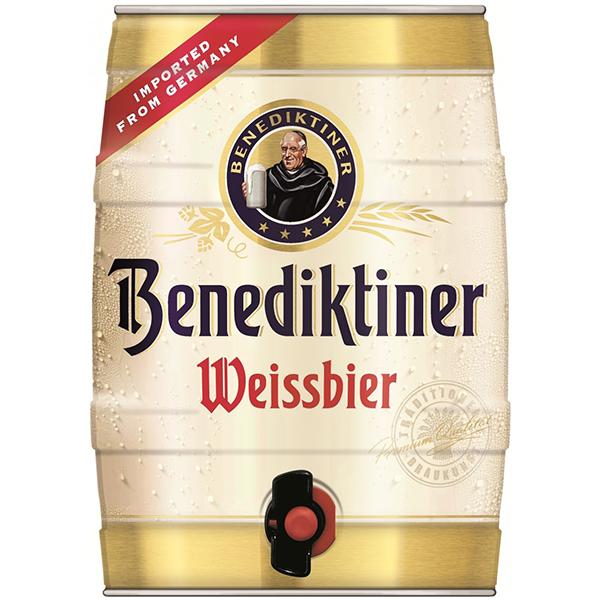 חבית בירה בנדיקטינר 5 ליטר