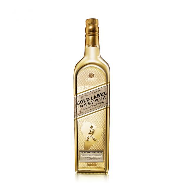 ג'וני ווקר גולד לייבל ״מצופה זהב״ מהדורה מוגבלת