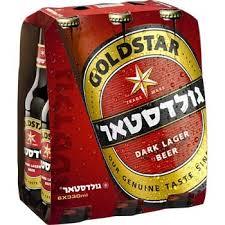 שישיית בירה גולדסטאר 330 מ״ל