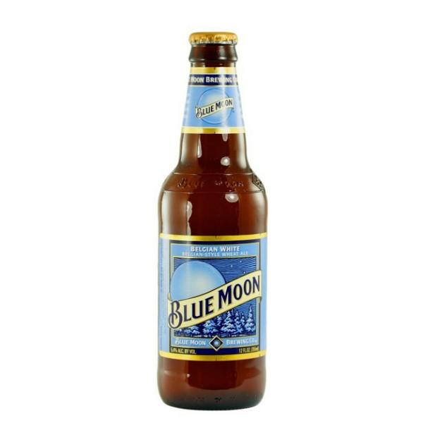 """ארגז בירה בלו מון 330 מ""""ל 24 יח'"""