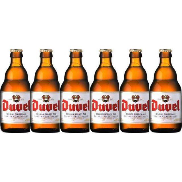 """שישיית בירה דובל 330 מ""""ל"""