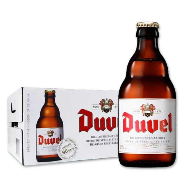 """ארגז בירה דובל 330 מ""""ל 24 יח'"""