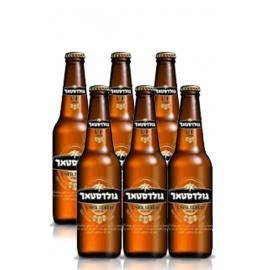 """ארגז בירה גולדסטאר לא מסונן 330 מ""""ל 24 יח'"""