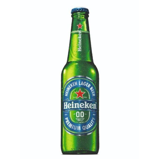 """ארגז בירה הייניקן ללא אלכוהול 330 מ""""ל 24 יח'"""