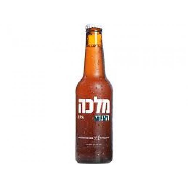 """בקבוק בירה מלכה הינדי 330 מ""""ל"""