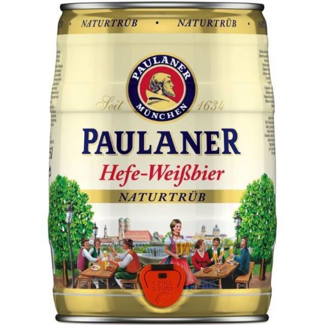 חבית בירה פאולנר 5 ליטר
