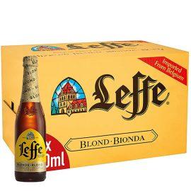 """ארגז בירה לף בלונד 330 מ""""ל 24 יח"""