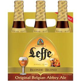 שישיית בירה לף בלונד 330 מ״ל