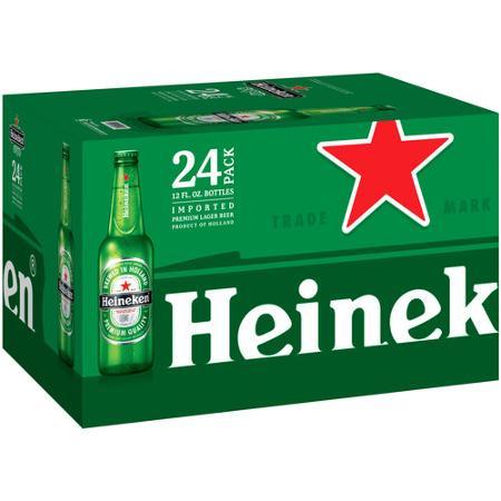 """ארגז בירה הייניקן 330 מ""""ל 24 יח'"""