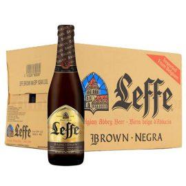 """ארגז בירה לף בראון 330 מ""""ל 24 יח'"""