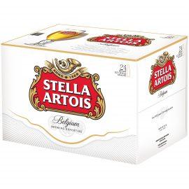 """ארגז בירה סטלה 330 מ""""ל 24 יח'"""
