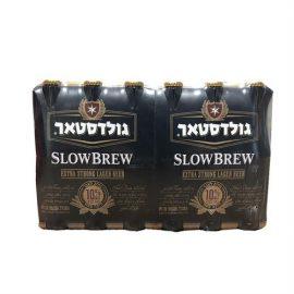 """ארגז בירה גולדסטאר 10% 330 מ""""ל 24 יח'"""