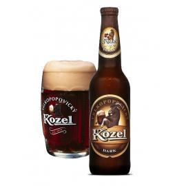 """ארגז בירה קוזל כהה 500 מ""""ל 20 יח'"""