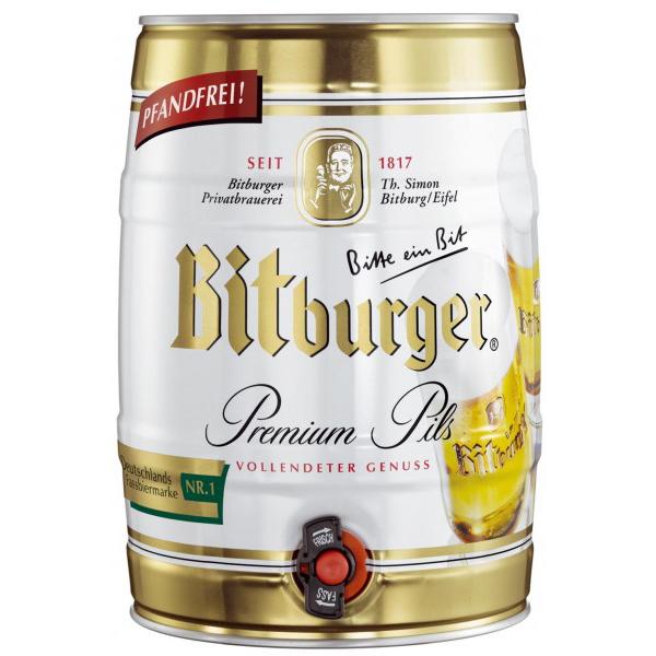 חבית בירה ביטבורגר 5 ליטר