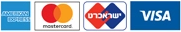 לוגויי כרטיסי אשראי