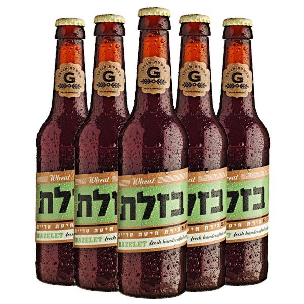שישיית בירה בזלת IPA 330 מ״ל