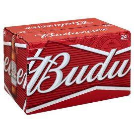 ארגז בירה באדוויזר 330 מ״ל 24 יח'