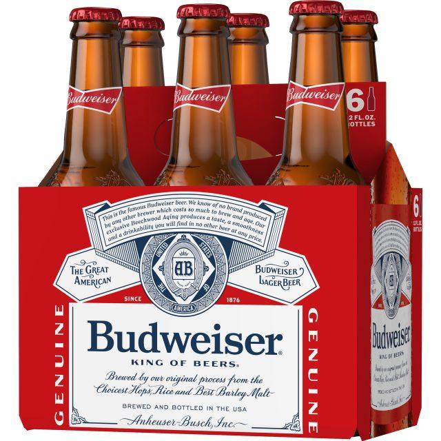 שישיית בירה באדוויזר 330 מ״ל