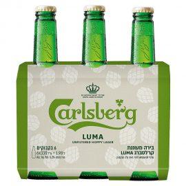 שישיית בירה קרלסברג לומה 330 מ״ל
