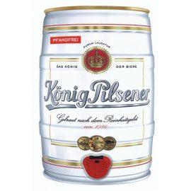 חבית בירה קניג קינג פילסן 5 ליטר