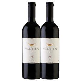 """ירדן מרלו זוג בקבוקים 750 מ""""ל"""