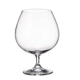 """סט 6 כוסות קוניאק 680 מ""""ל מבית בוהמיה"""
