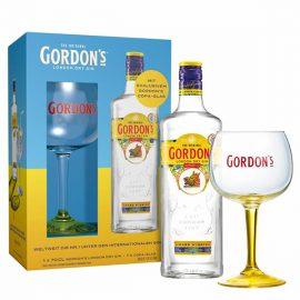 גורדון 700 מ״ל + כוס ג'ין מהודרת